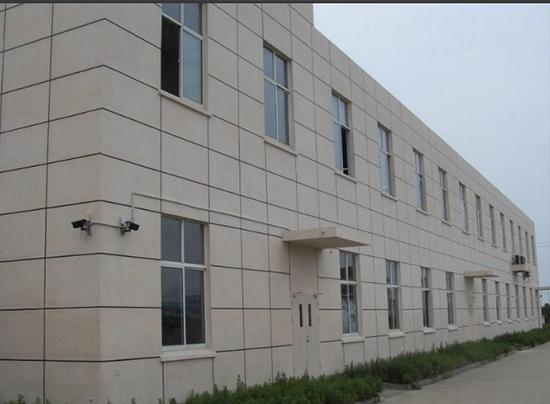 深圳尚威工业园外墙多彩仿石漆涂装工程
