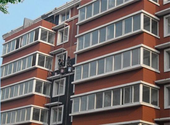 深圳南山商住楼外墙翻新涂装工程