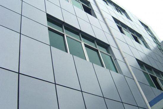深圳市幸福蓝天工业园外墙涂装工程