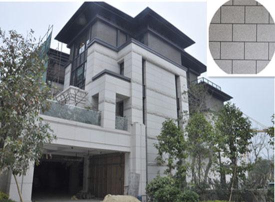 广西北海别墅区外墙涂装