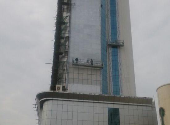 江西上饶农业银行氟碳漆涂装工程