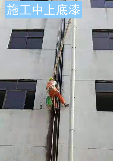 深圳广立佳10年厂房外墙翻新按期完工