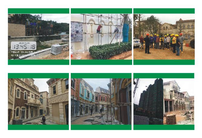 深圳涂饰家2019年开年来在进行中的部分工程