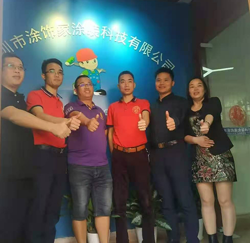 热烈欢迎—广东湖南东安商会领导到公司视察指导工作